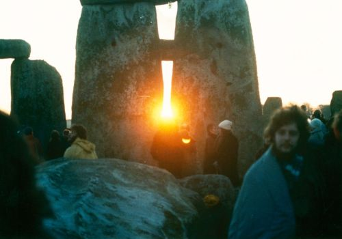 Sunrise at Stonehenge on the Winter Solstice Photo: Mark Grant Source: Wikimedia Commons