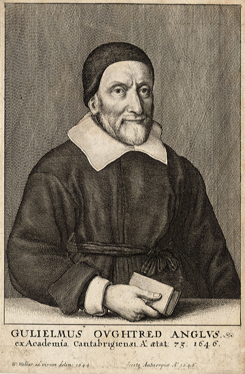 William Oughtred by Wenceslas Hollar 1646 Source: Wikimedia Commons