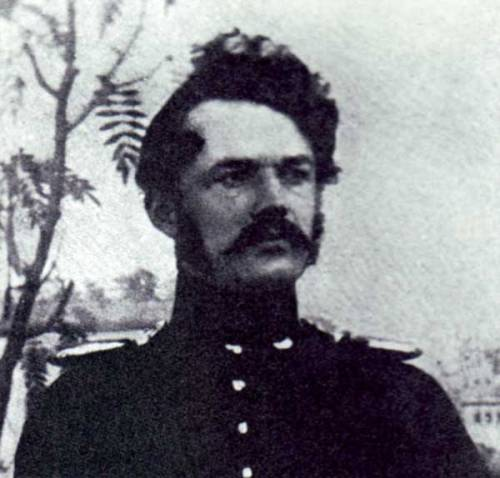 Werner Siemens as Second-Lieutenant in the Prussian Artillery, 1842 Source: Wikimedia Commons