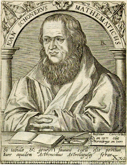 Joan Schonerus Mathematicus Source: Wikimedia Commons