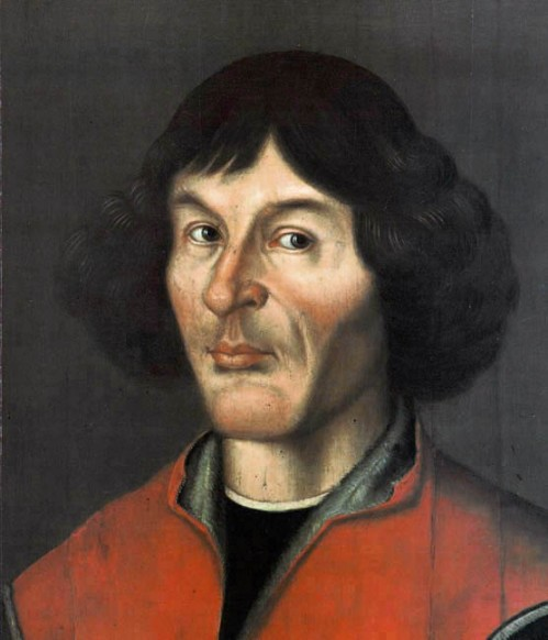 Nicolaus Copernicus portrait from Town Hall in Toruń - 1580 Source: Wikimedia Commons