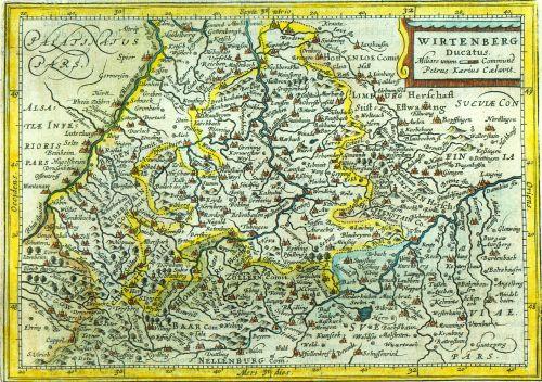 Württemberg-karte_pieter-van-den-keere_1619