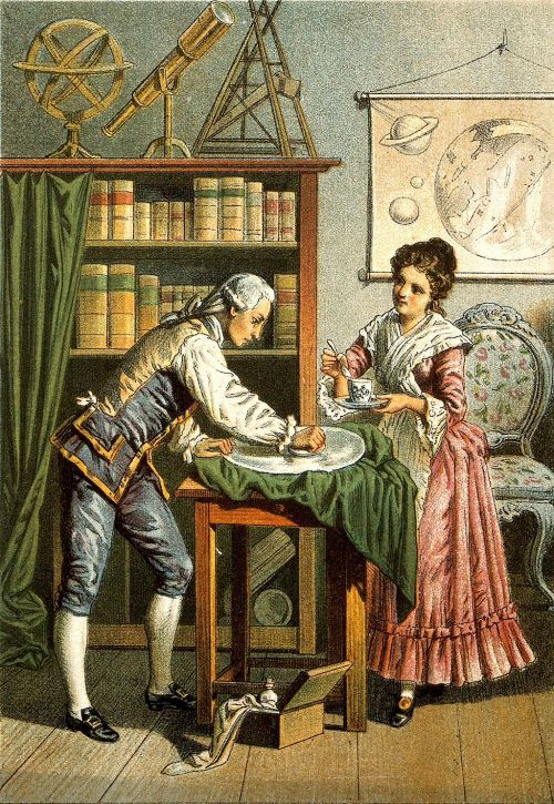 Sir_William_Herschel_and_Caroline_Herschel._Wellcome_V0002731_(cropped)
