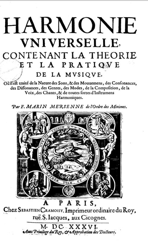Marin_Mersenne_-_Harmonie_universelle_1636_(page_de_titre)