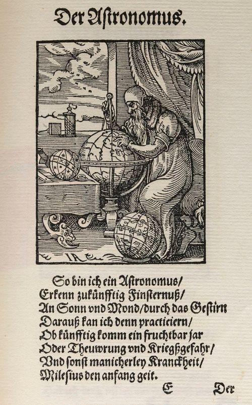 Der_Astronomus_from_Jost_Amman's_Stände_und_Handwerker_Wellcome_L0069526