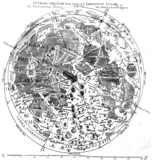riccioli1651moonmap