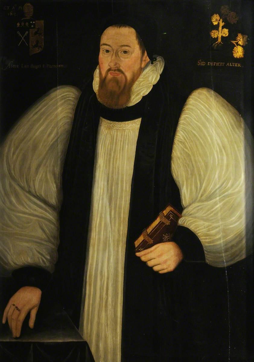 unknown artist; Francis Godwyn (1562-1633), Bishop of Llandaff (1601), Bishop of Hereford (1617)