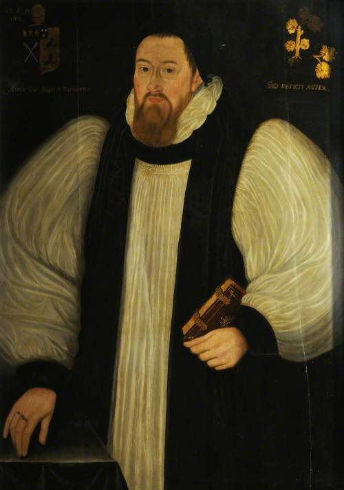 unknown artist; Francis Godwyn (1562-1633), Bishop of Llandaff (1601), Bishop of Hereford (1617)