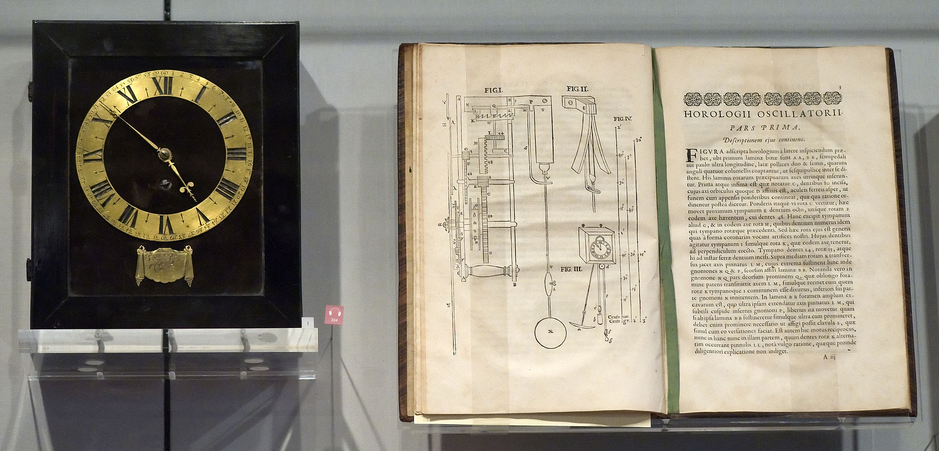 Christiaan_Huygens_Clock_and_Horologii_Oscillatorii