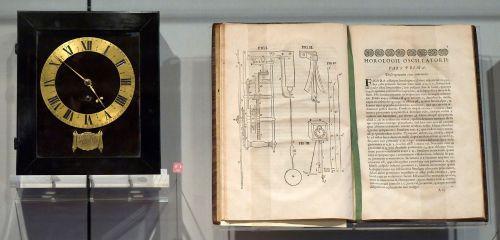 Christiaan_Huygens_Clock_and_Horologii_Oscillatorii