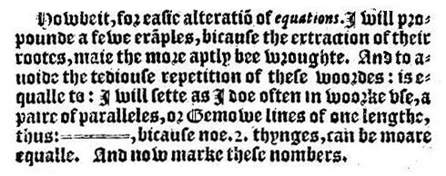 Recorde_-_The_Whetstone_of_Witte_-_equals