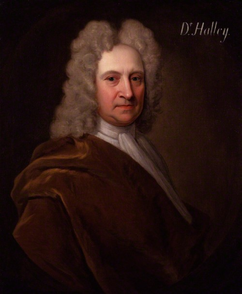NPG 4393; Edmond Halley by Richard Phillips