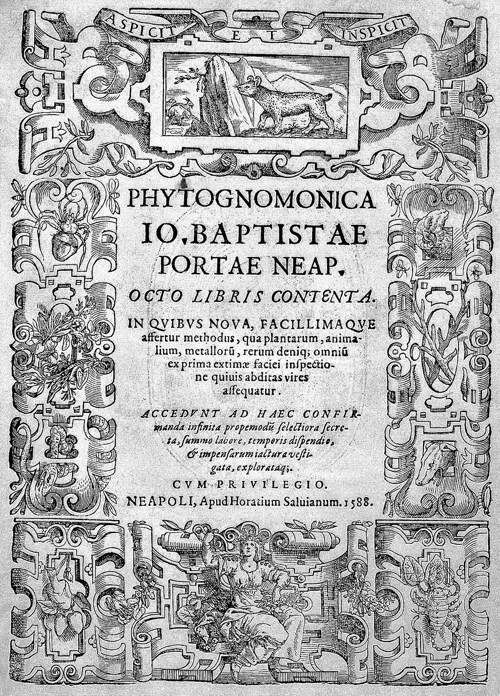 G._B._della_Porta,_Phytognomonica,_1588_Wellcome_L0030483
