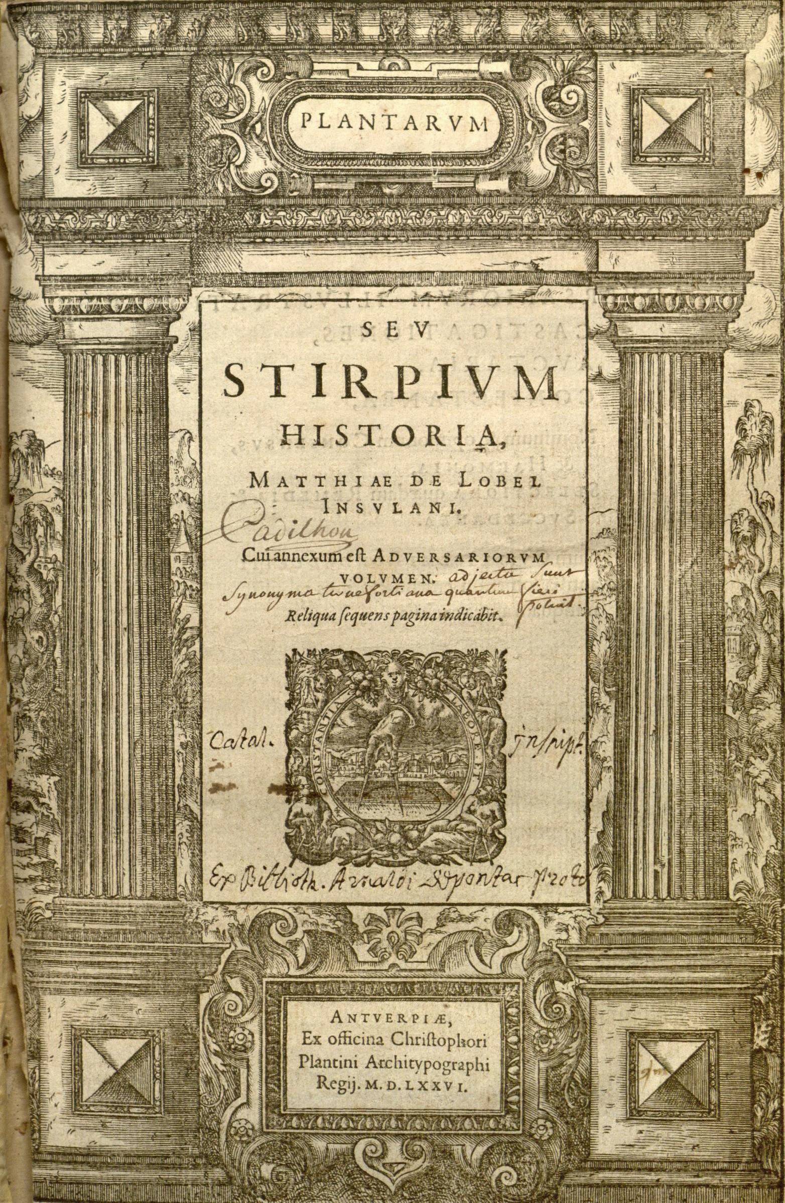 Plantarum,_seu,_Stirpium_historia_(Title_page)