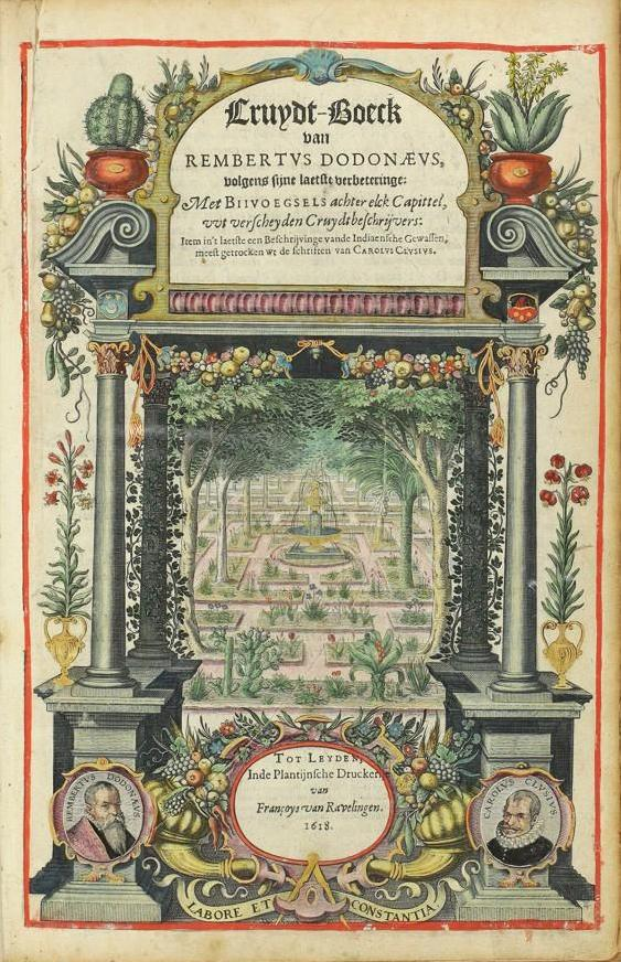 Title_page_of_Cruydt-Boeck,_1618_edition
